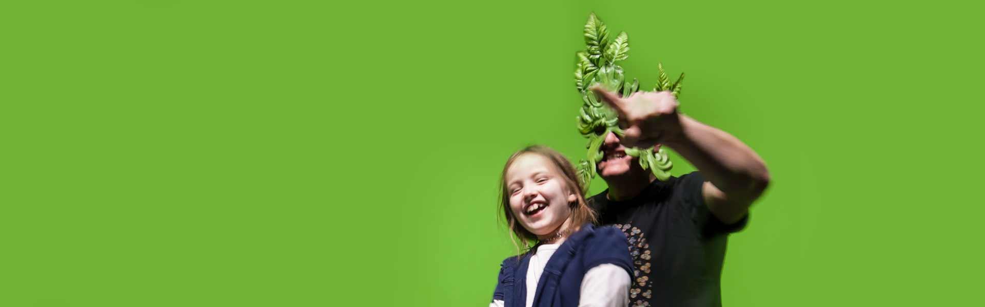 Greenscreen-Installation – Robin Hood-Ausstellung