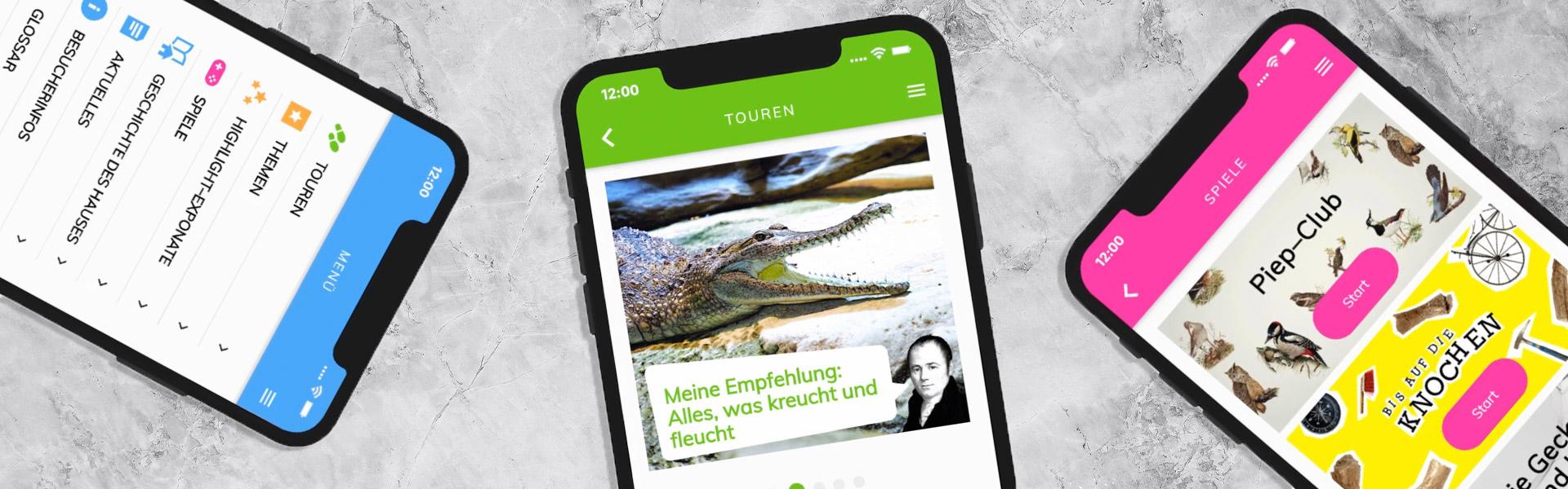 Die App fürs Naturkundemuseum Karlsruhe